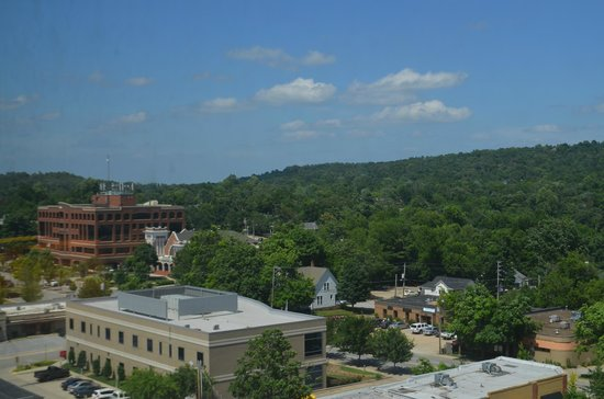The Chancellor Hotel: View from 1117 (July 2014)