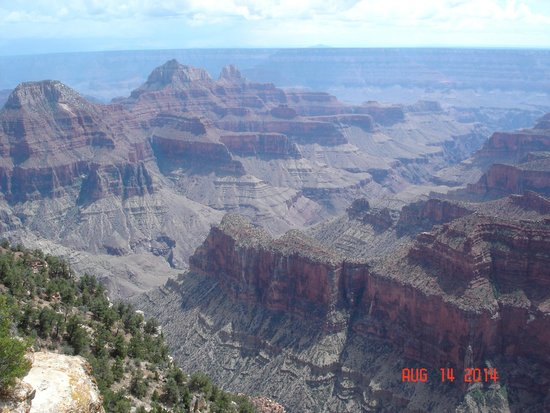 Grand Canyon North Rim: View from North Rim