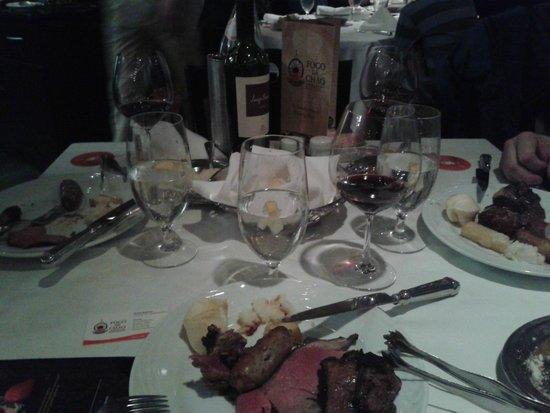 Fogo de Chao Brazilian Steakhouse: perfect food :)