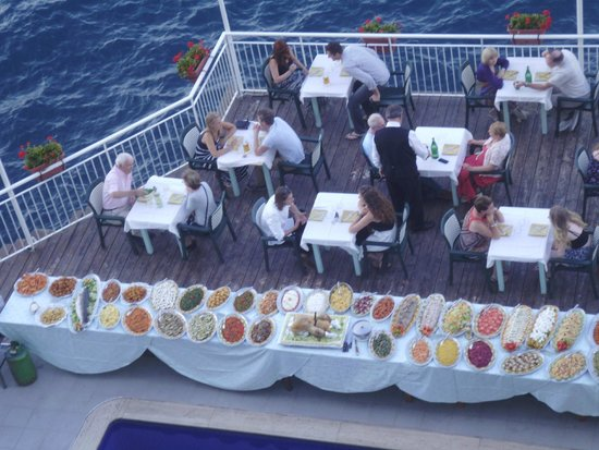 Hotel Admiral Sorrento: Sunday buffet
