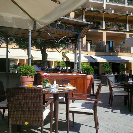 Grand Hotel San Pietro: para desayunar