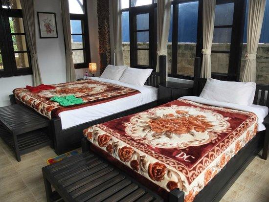 Aquarius Inn: Chambre