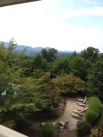Brasstown Valley Resort & Spa: View from our balcony.