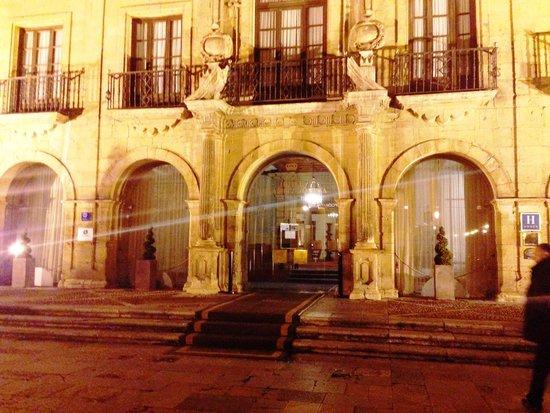 Eurostars Hotel de la Reconquista: The fabulous building detail