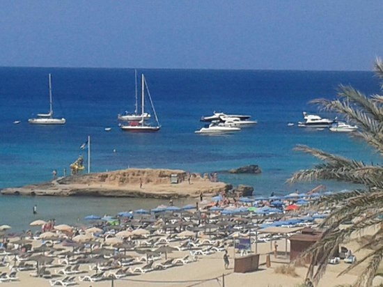 Insotel Tarida Beach Sensatori Resort : La spiaggia di cala tarida
