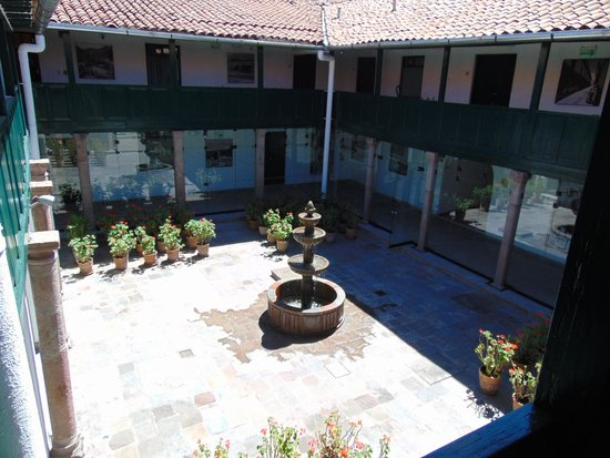 Casa Andina Private Collection Cusco: pátio