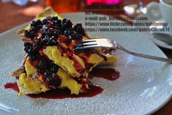 La Pergoletta : Millefoglie ai frutti di bosco