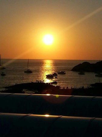 Insotel Tarida Beach Sensatori Resort : Il tramonto di cala tarida!