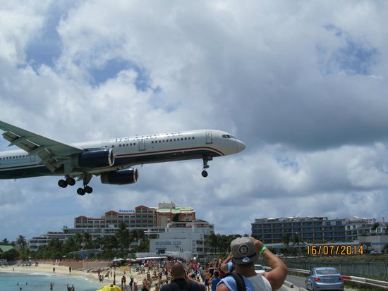 Big Airliner at Maho Beach, St. Maarten