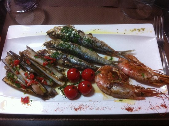 etxean: Assiette du pêcheur.