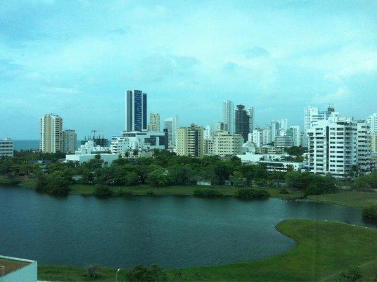 Hilton Cartagena: Vistas del Laguito - habitacion 845