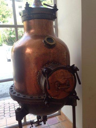 Parfumerie Fragonard - L'Usine laboratoire : Macchinario