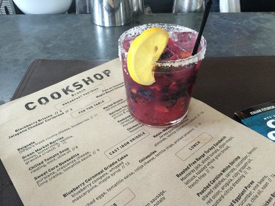 Cookshop - Blueberry Ginger Margarita