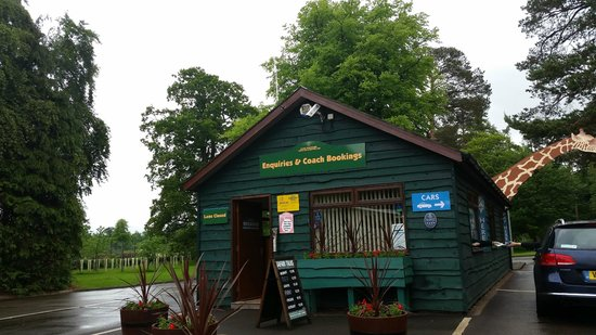 Blair Drummond Safari and Adventure Park: Entrance