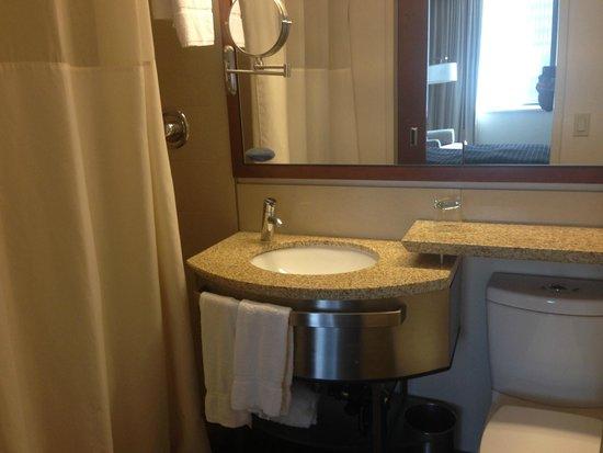 River Hotel : Bathroom