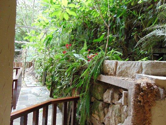 SUMAQ Machu Picchu Hotel: varanda