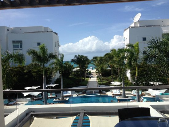 Gansevoort Turks + Caicos: View from our room