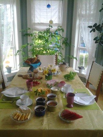 Anne Gerd's Lofoten: Breakfast time!
