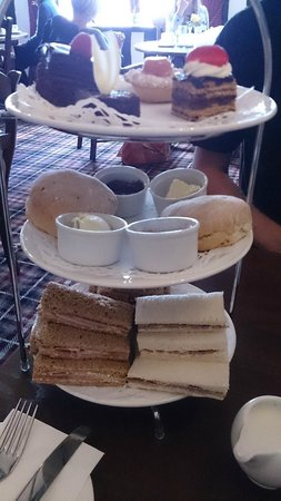 Hathaway Tea Rooms: Afternoon tea for two