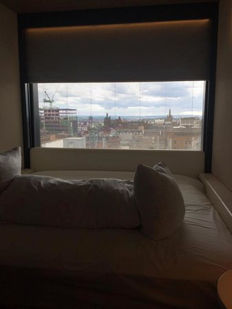 citizenM Glasgow: Lovely views