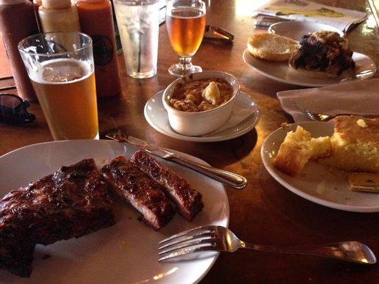 Slows Bar BQ: The ribs special!