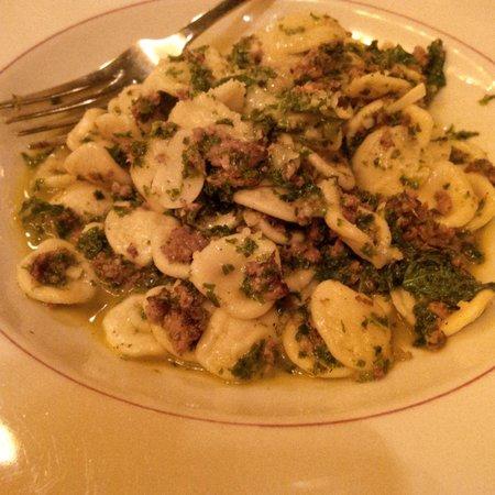 Bocca Restaurant: Orecchiette with lamb sausage