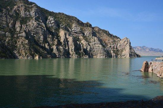 Buffalo Bill Dam: Il lago artificiale