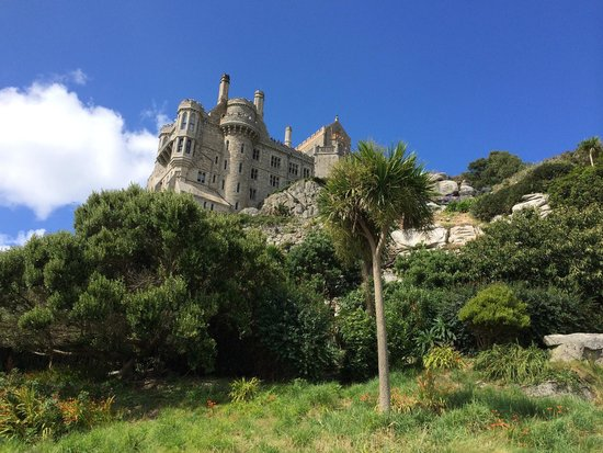 St. Michael's Mount: View from the garden