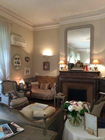 Hotel Villa Rivoli: Salon/lounge