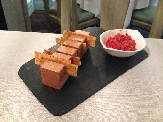 chez eugene: Mise en bouche (tomates)