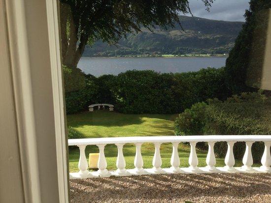 The Grange : Uitzicht over Loch Linnhe