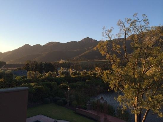 L'Ermitage Franschhoek Chateau & Villas: Stunning views