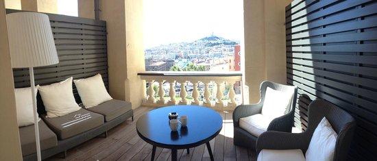 InterContinental Marseille - Hotel Dieu : Terrasse de la chambre