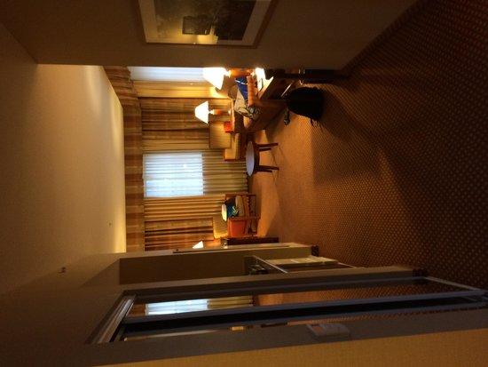 Hilton Richmond Downtown: Corner King Room