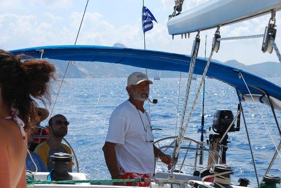 Polco Sailing Cruises: Captain Nikos