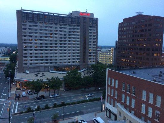 Hilton Richmond Downtown: View from top floor corner room. Wonderful!