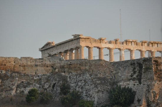 Athens Custom Taxi Tours: Acropolis from Plaka Hotel
