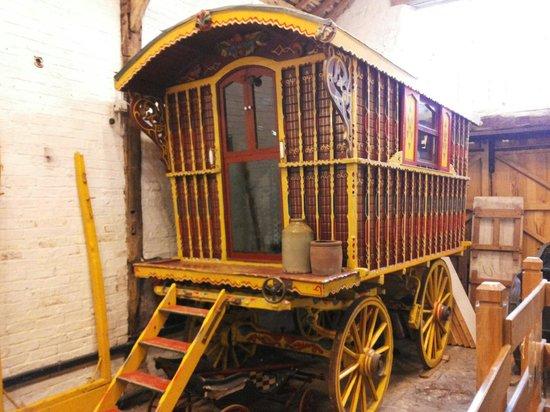 Shibden Hall: A gypsy wagon