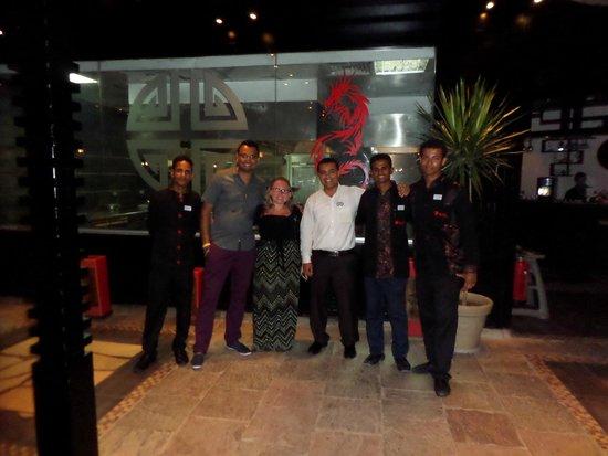 SENTIDO Mamlouk Palace Resort: Eslam and the team