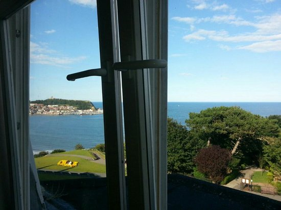 Mansion House Scarborough: View from room 18