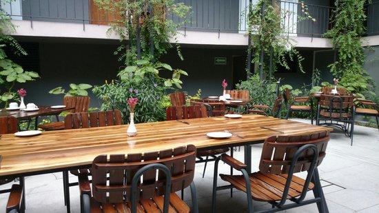 Flor de Mayo Hotel and Restaurant: Delicioso desayuno