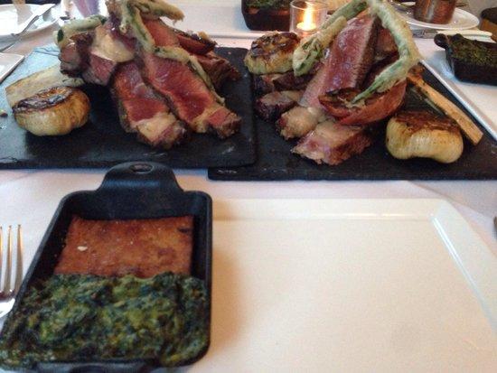 SoLo Farm and Table: Bone in ribeye
