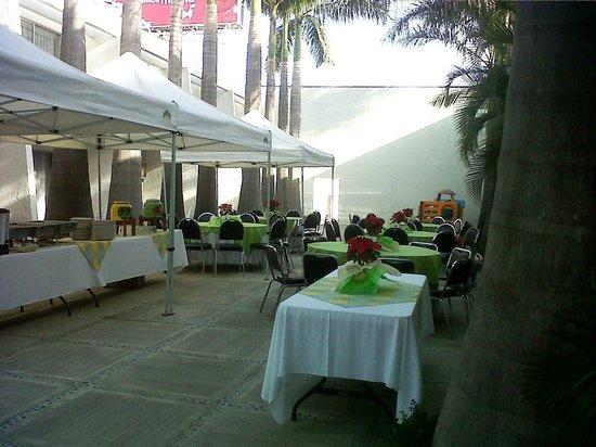 Suites del Real: Area para Eventos