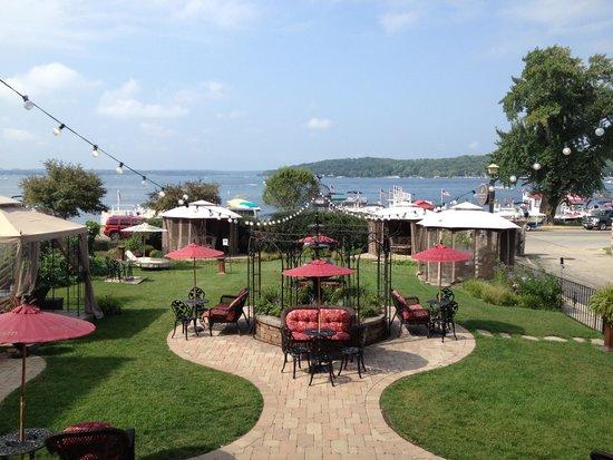 Baker House Hotel : Lake view