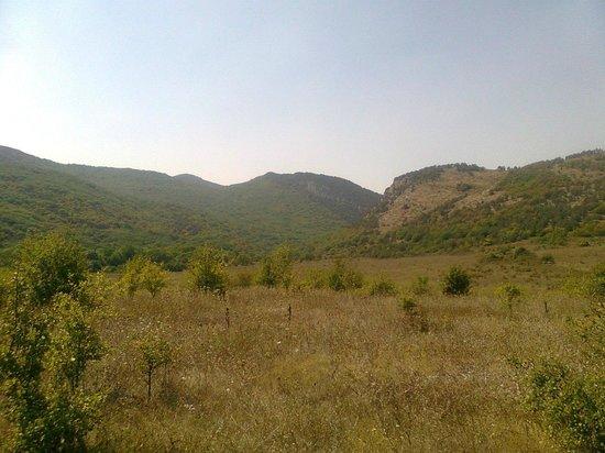 Chernorechensky Canyon
