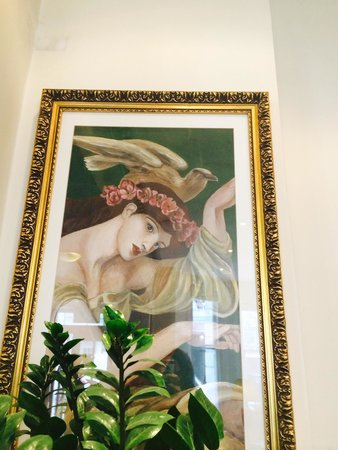 The Gainsborough Hotel: Decoration of hotel