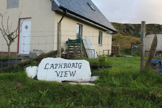 Laphroaig View Guest House B&B: Entrance to accommodation