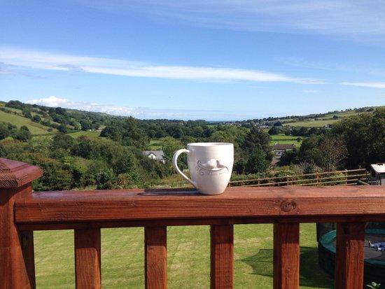 Glenn Eireann House B&B: Morning views