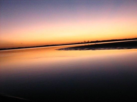 Hotel Keur Saloum: zonsondergang
