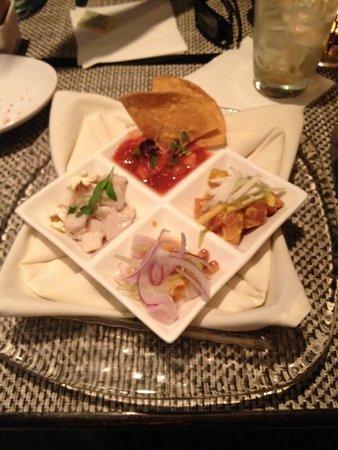 CEIBA: sampler of ceviches